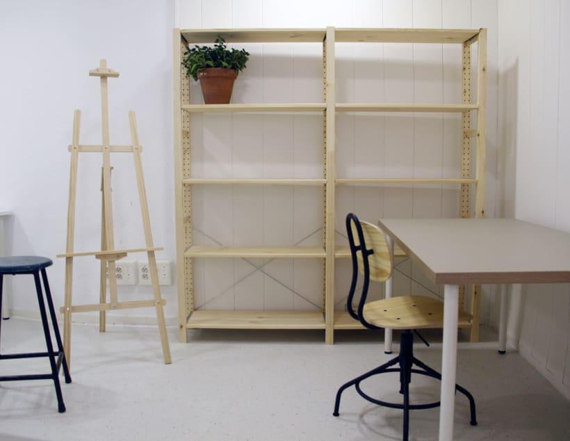 Espacios para diseñadores y artistas en Lavapiés, Madrid 1