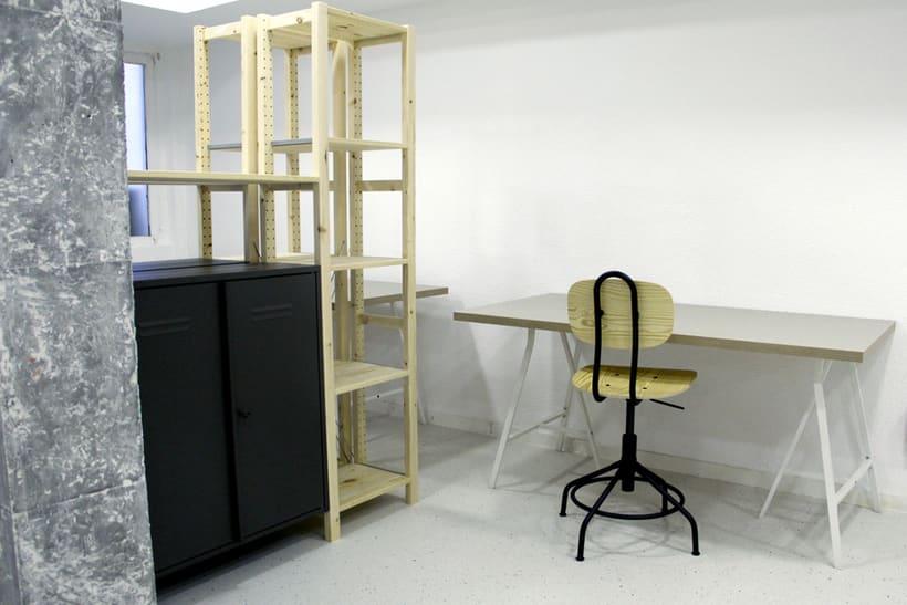 Espacios para diseñadores y artistas en Lavapiés, Madrid 2