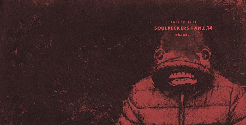 Portadas fanzines Soulpeckers 4