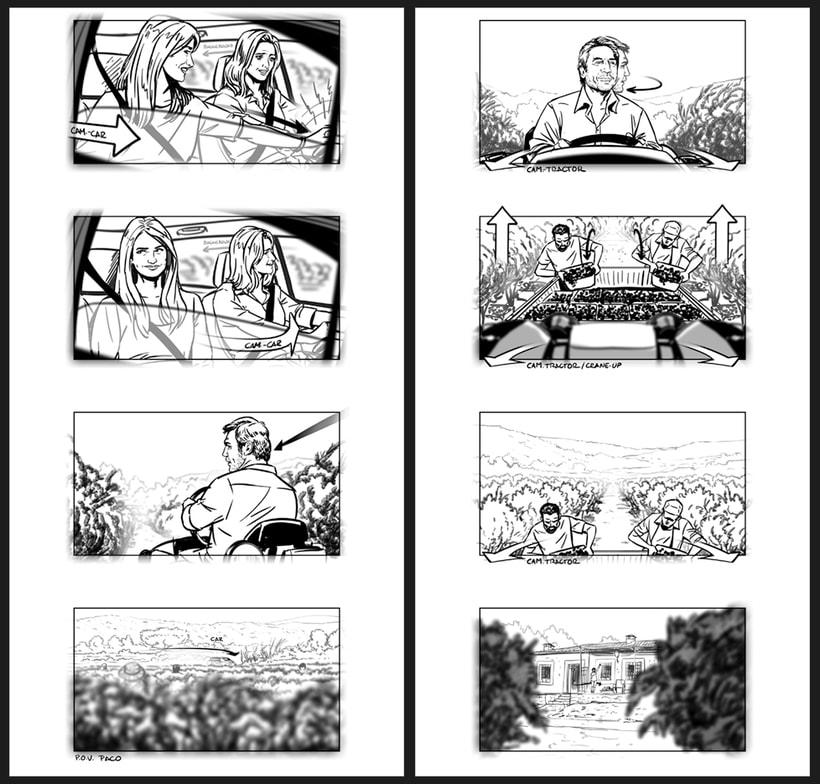 Todos lo saben - Storyboards 3