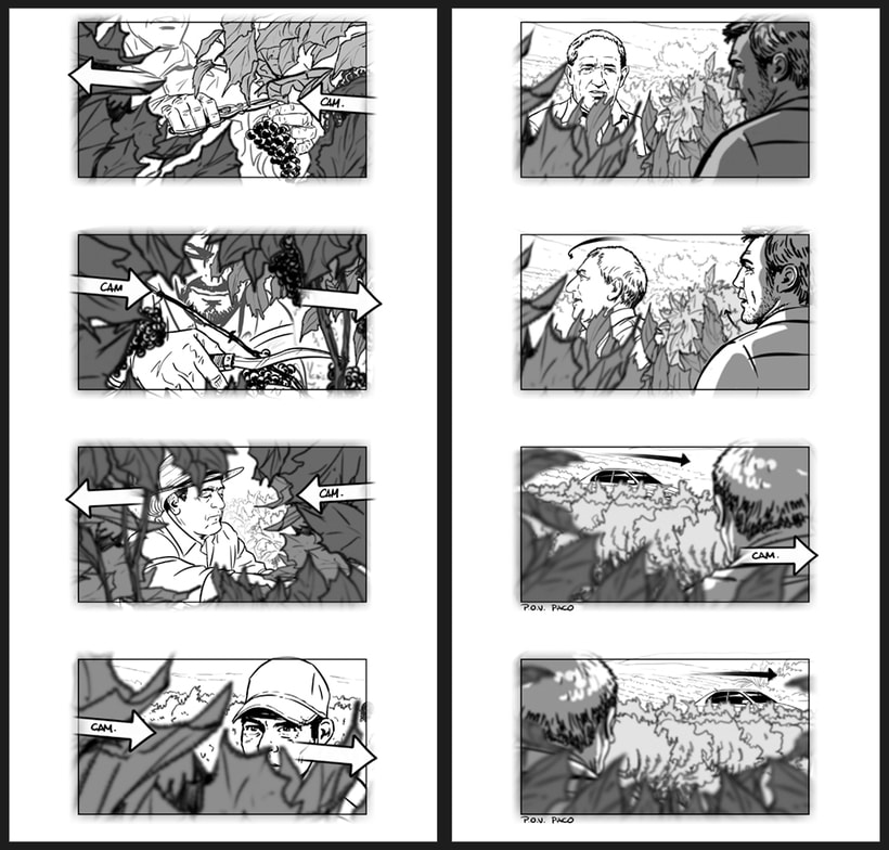 Todos lo saben - Storyboards 7