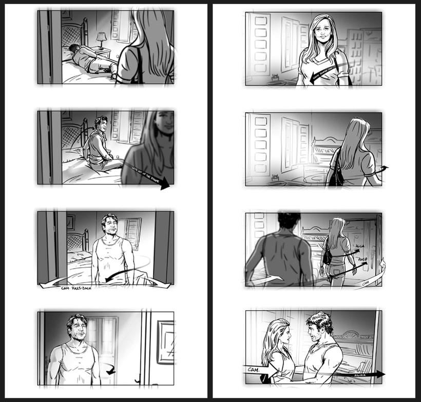 Todos lo saben - Storyboards 8
