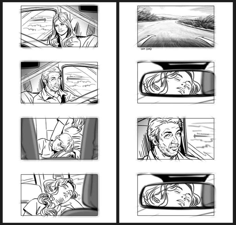 Todos lo saben - Storyboards 9