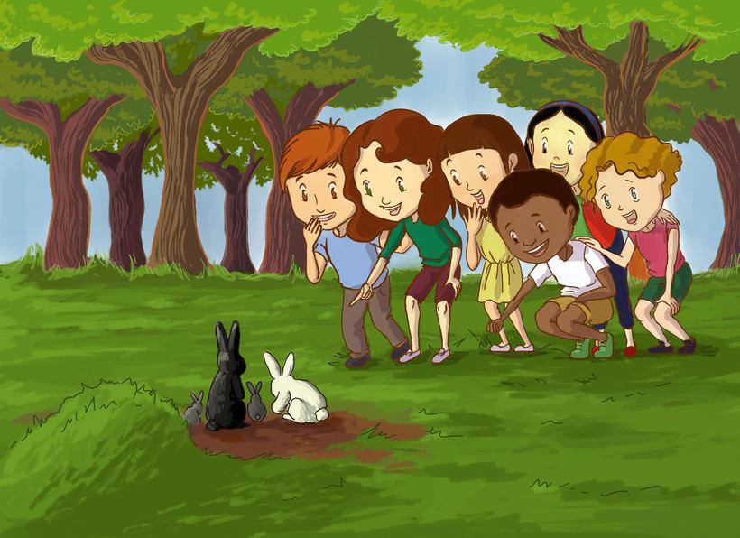 Polina y sus amigos 1