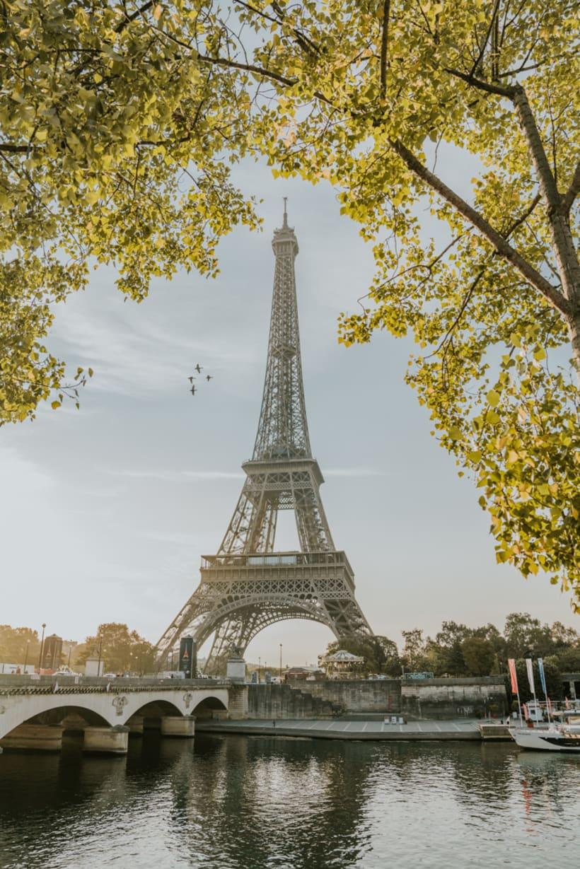 Perspectivas de la Torre Eiffel 3