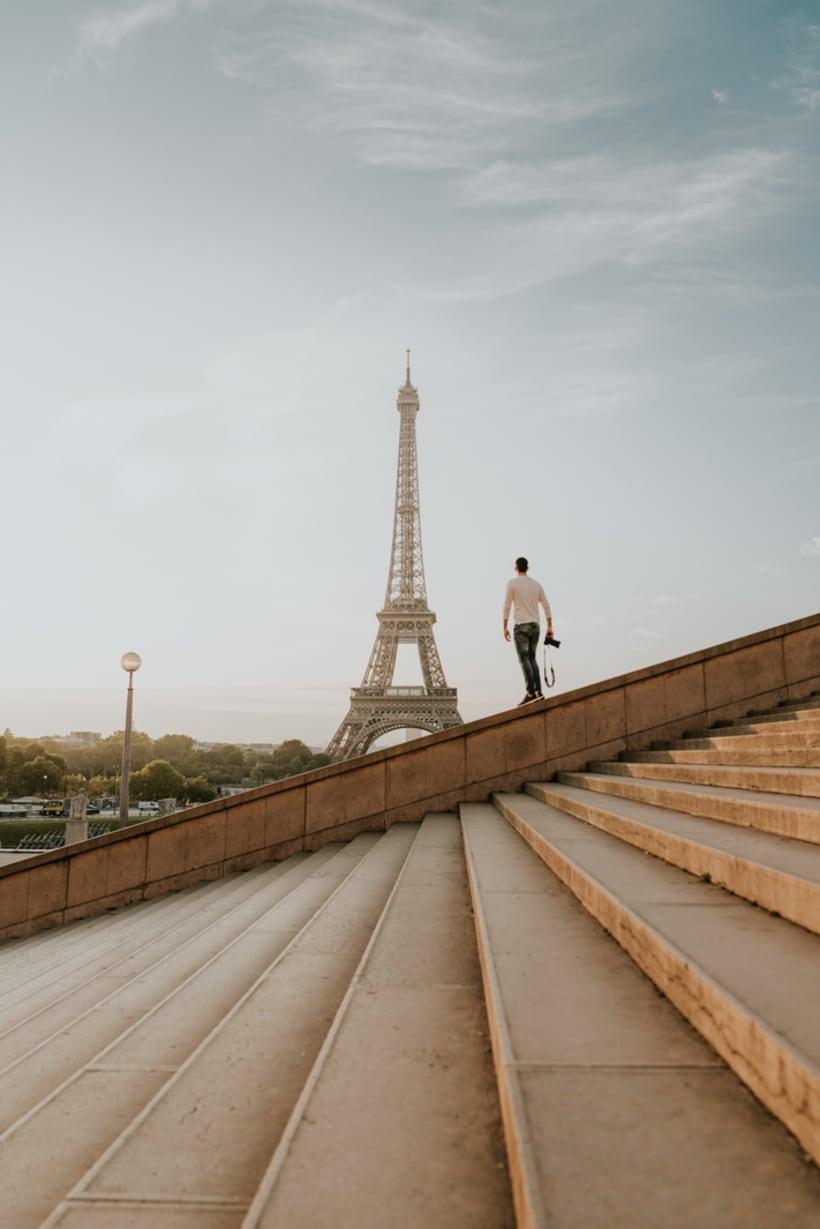 Perspectivas de la Torre Eiffel 1