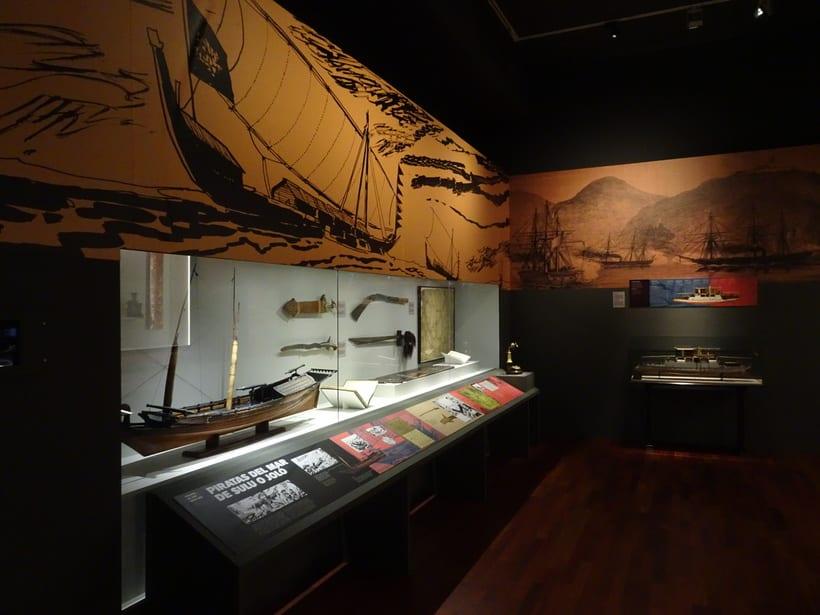 Diseño y coordinación de la exposición temporal Asia y el Museo Naval. 2018 0