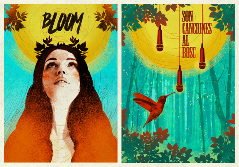 "Cartel ""Son Canciones al Bosc"" 2"