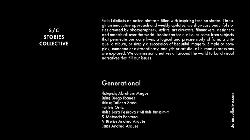 Generational | Stories Collective Colab. 0