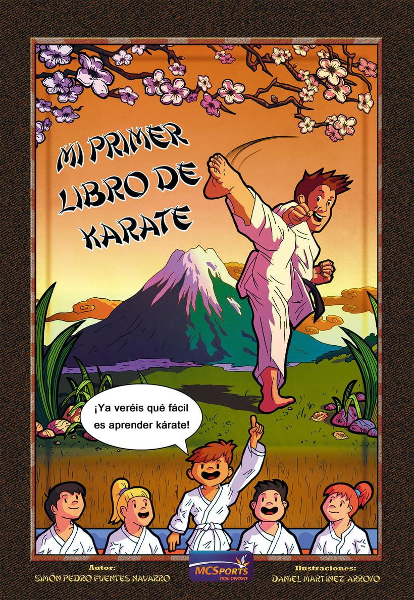 Mi primer libro de Karate (libro de enseñanza) -1