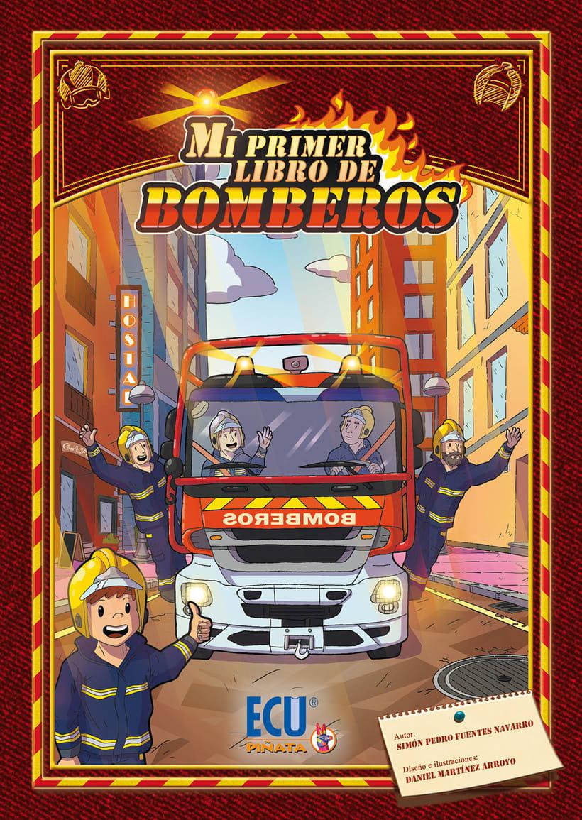 Mi primer libro de Bomberos (libro de enseñanza) 0