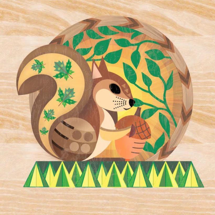 Animales Geométricos 4