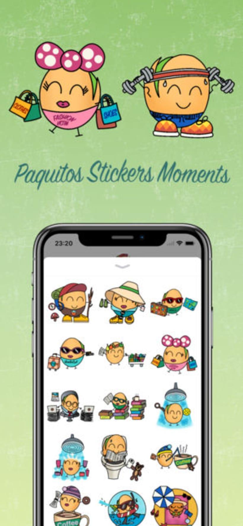 Paquitos Stickers 1