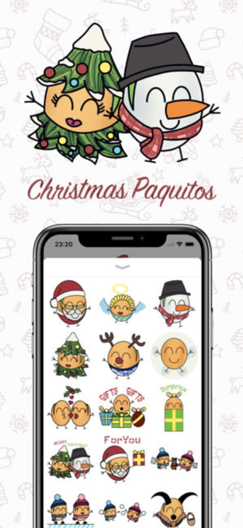 Paquitos Stickers 2