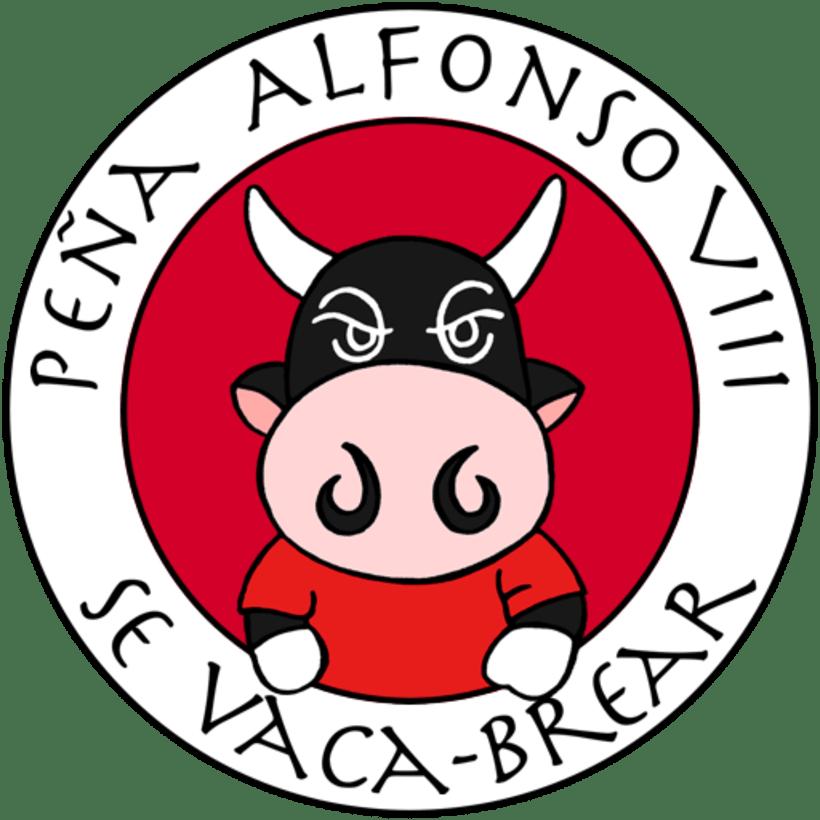 Imagen de marca de la Peña Alfonso VIII se vaca-brear -1