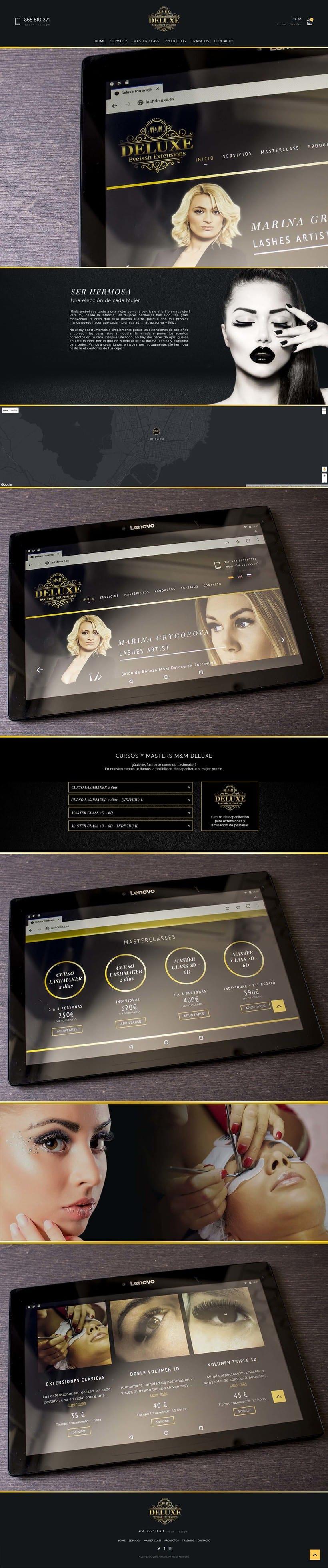 M&M Deluxe - Diseño web, UX/UI 1