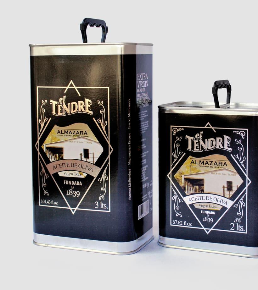 El Tendre - Diseño de Packaging 4