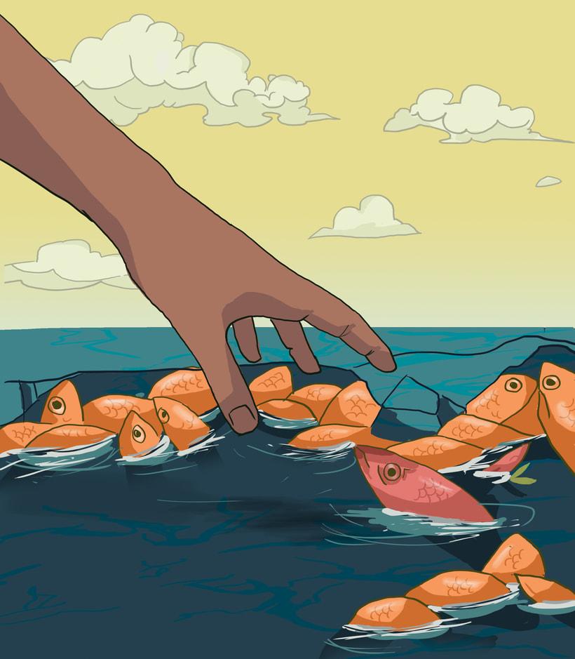 Fish man  0
