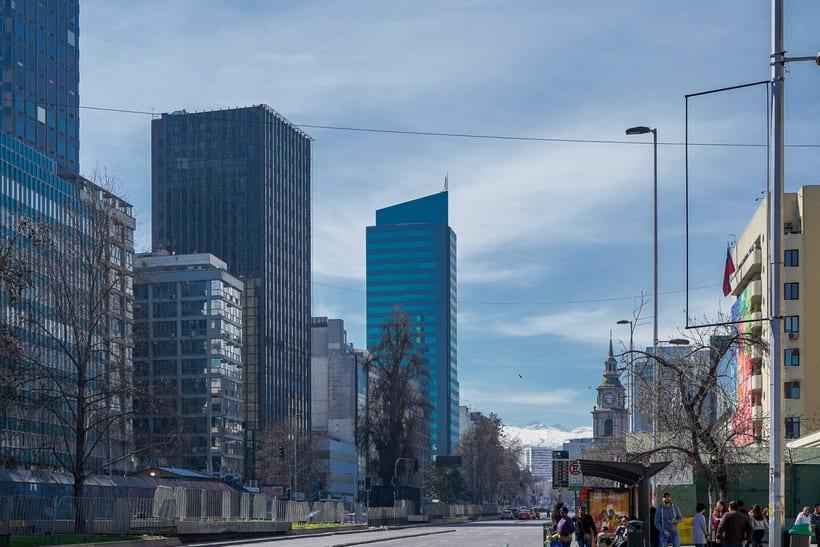 Caminado por los 200 años de la Alameda de Santiago de Chile 12