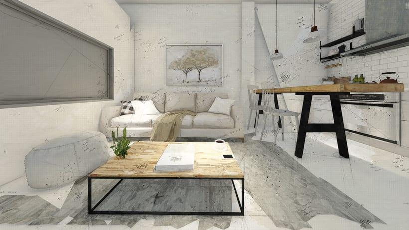 Mi Proyecto del curso: Iniciación al diseño de interiores 1