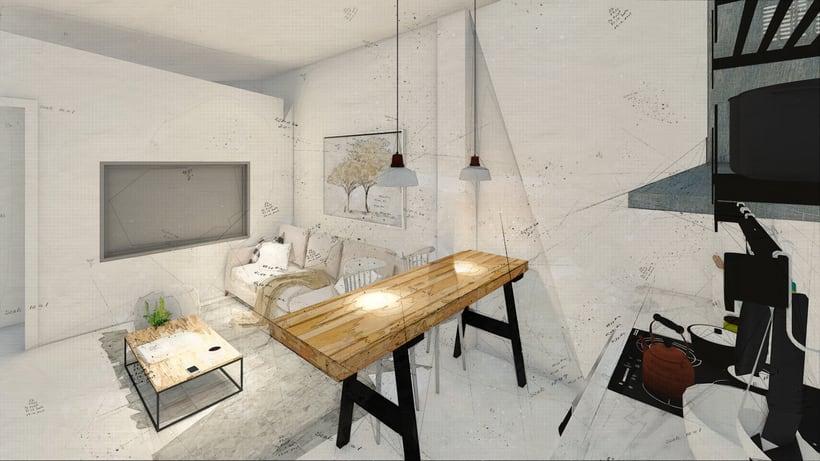 Mi Proyecto del curso: Iniciación al diseño de interiores 3