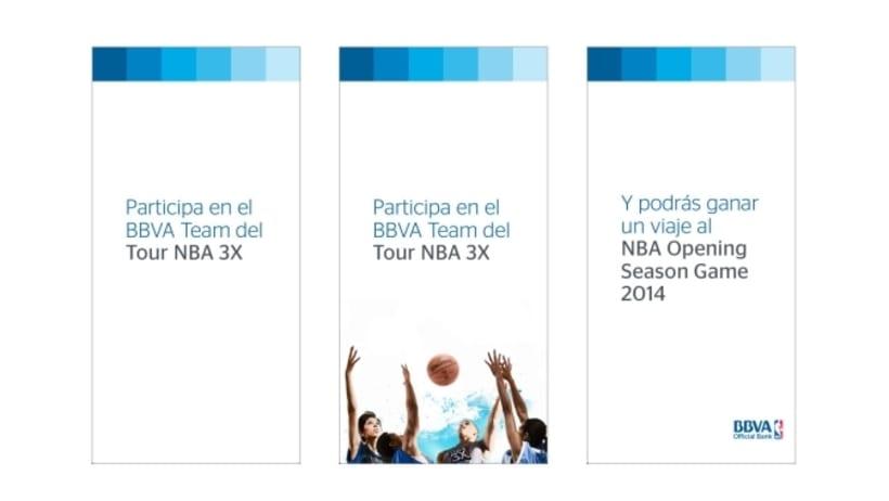 Redacción de contenidos y supervisión de campaña online para BBVA. Desarrollo de Landings RESPONSIVE. Desarrollo de Emails RESPONSIVE. Desarrollo de Campaña de Banners. 5