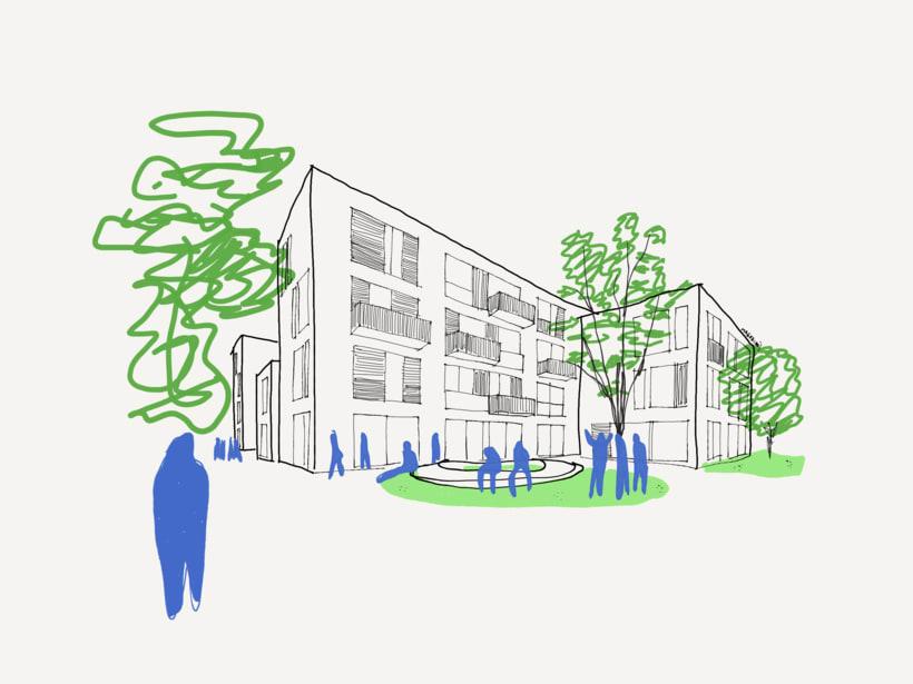 Mis Ilustraciones: Paisajes, Arquitectura, Streetmotivattion 0