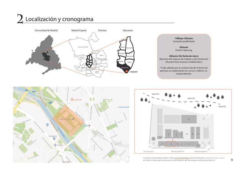 Diseño de oficina + showroom para Pixar en Matadero Madrid 7