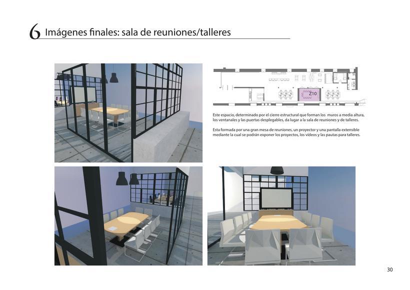 Diseño de oficina + showroom para Pixar en Matadero Madrid 28