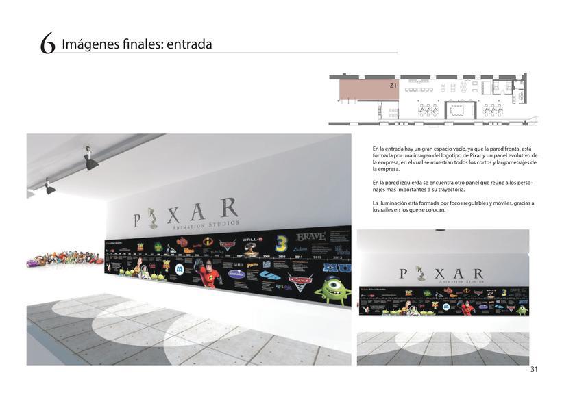 Diseño de oficina + showroom para Pixar en Matadero Madrid 29
