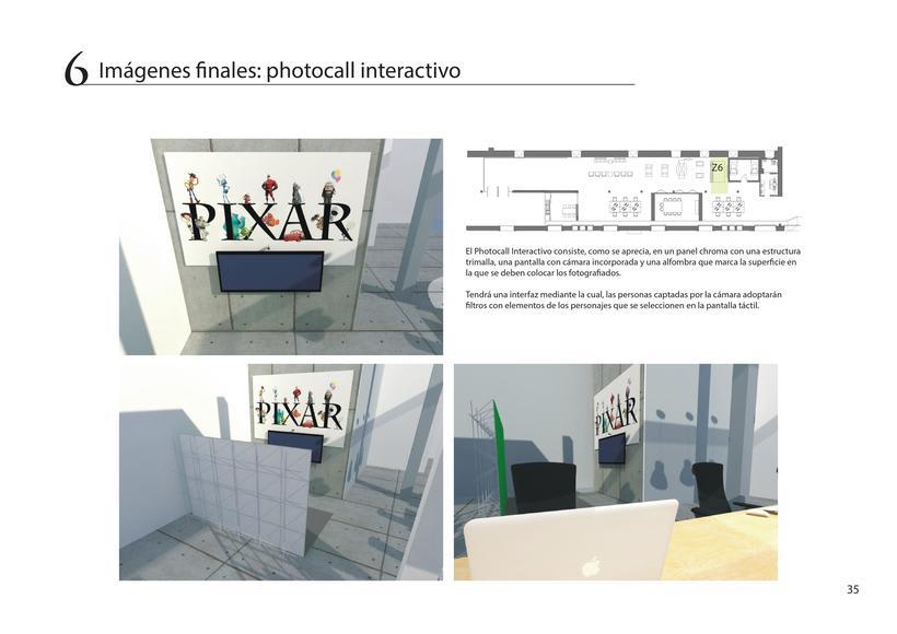 Diseño de oficina + showroom para Pixar en Matadero Madrid 33