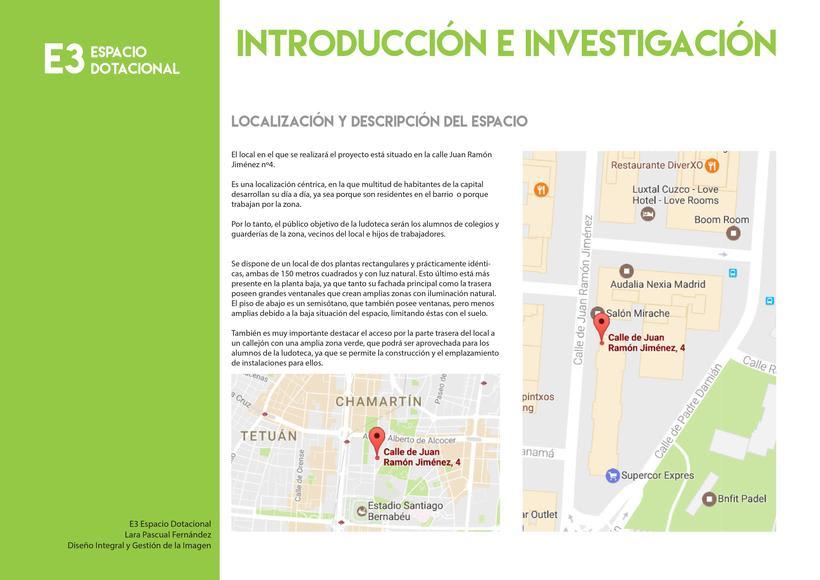 Reforma y diseño de local comercial: LUDOTECA   1