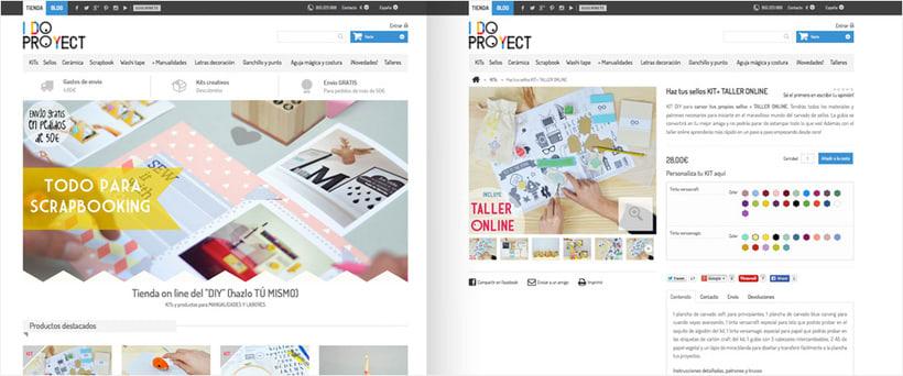 Colaboración en el desarrollo de la tienda online I DO PROJECT  0