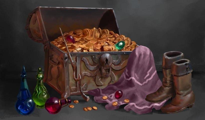 Magic Chest - Concept Art  8