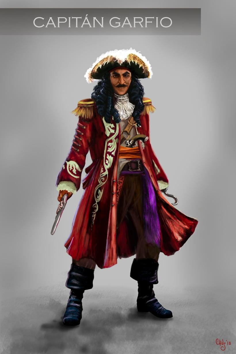 Puerto Pirata y el Capitán James Garfio 1