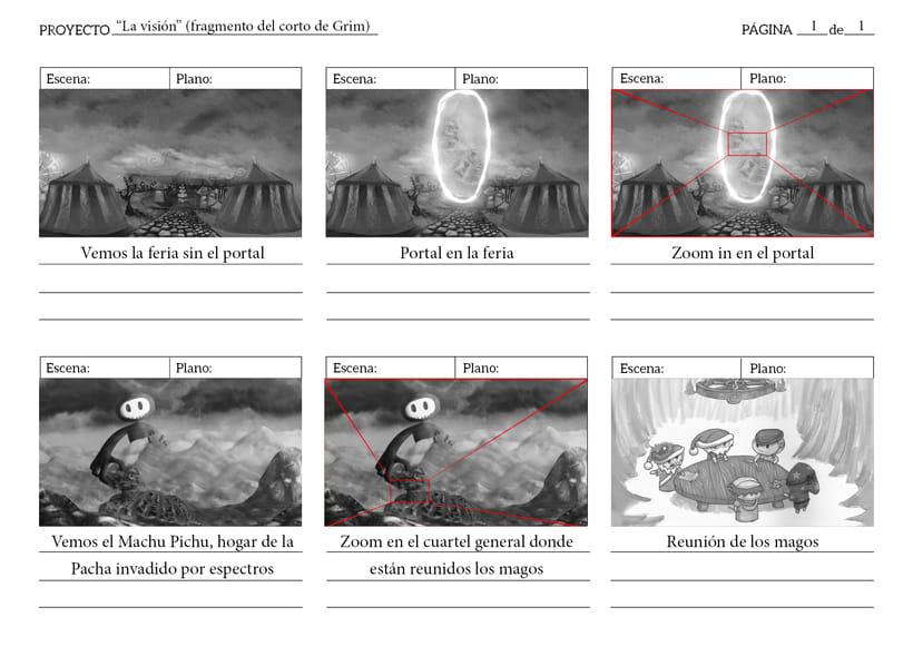 """Animación de """"El portal"""" con cámara 3D y After Effects 2"""