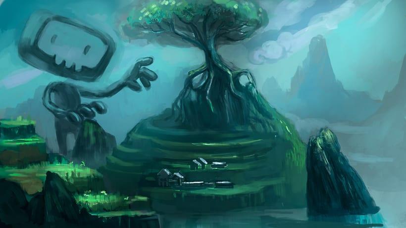 """Animación de """"El portal"""" con cámara 3D y After Effects 4"""