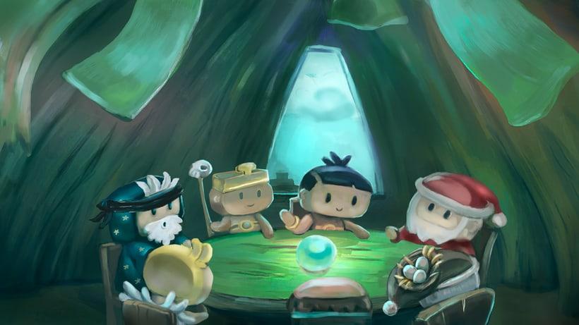 """Animación de """"El portal"""" con cámara 3D y After Effects 5"""