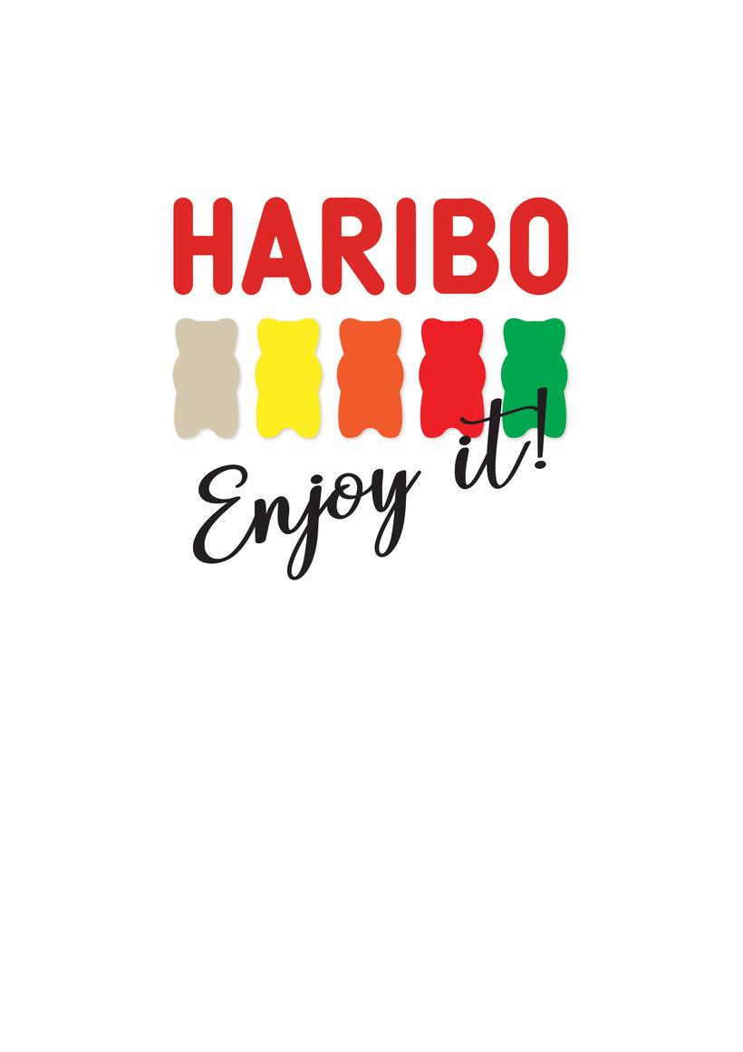 Propuesta para el concurso de diseño de camisetas de Haribo 0