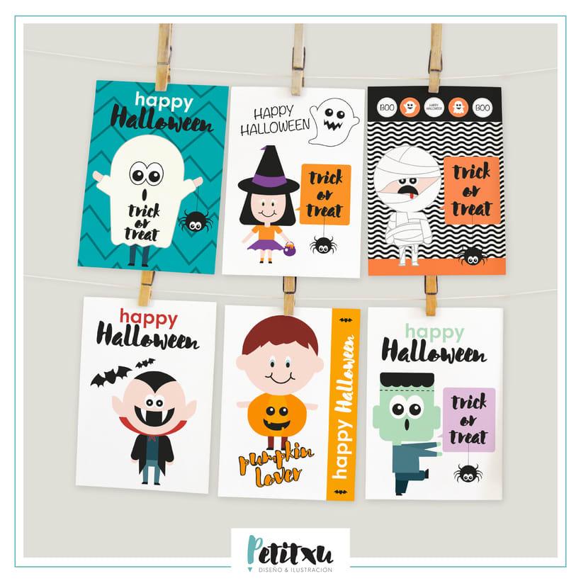 Tarjetas para Halloween -1