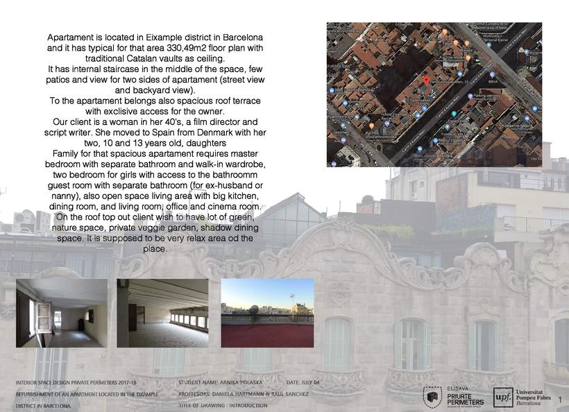 Barcelona Eixample Apartament -1