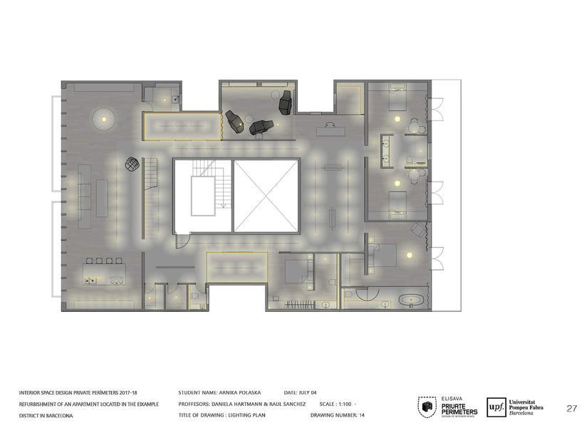 Barcelona Eixample Apartament 16