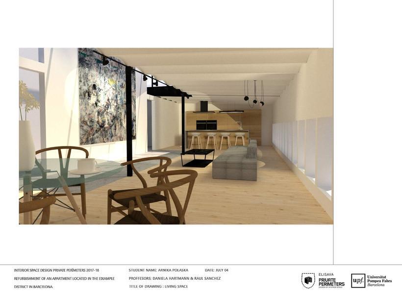 Barcelona Eixample Apartament 17