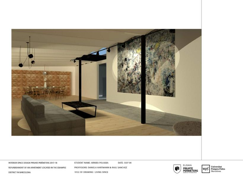 Barcelona Eixample Apartament 19