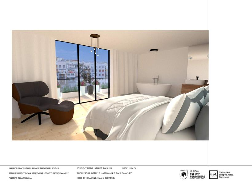Barcelona Eixample Apartament 20