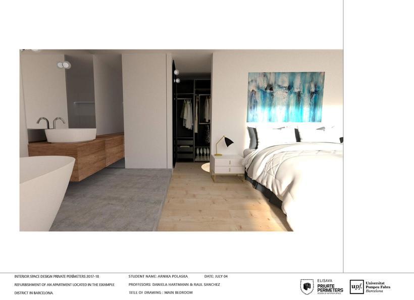 Barcelona Eixample Apartament 21