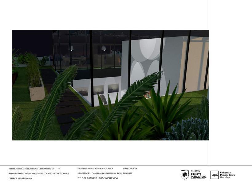 Barcelona Eixample Apartament 22