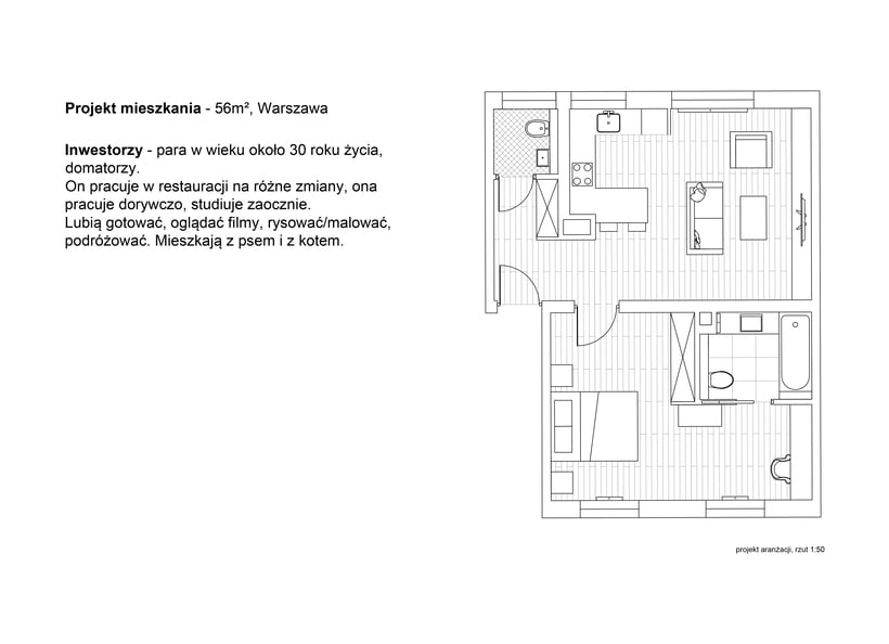 quick small apartament design 3