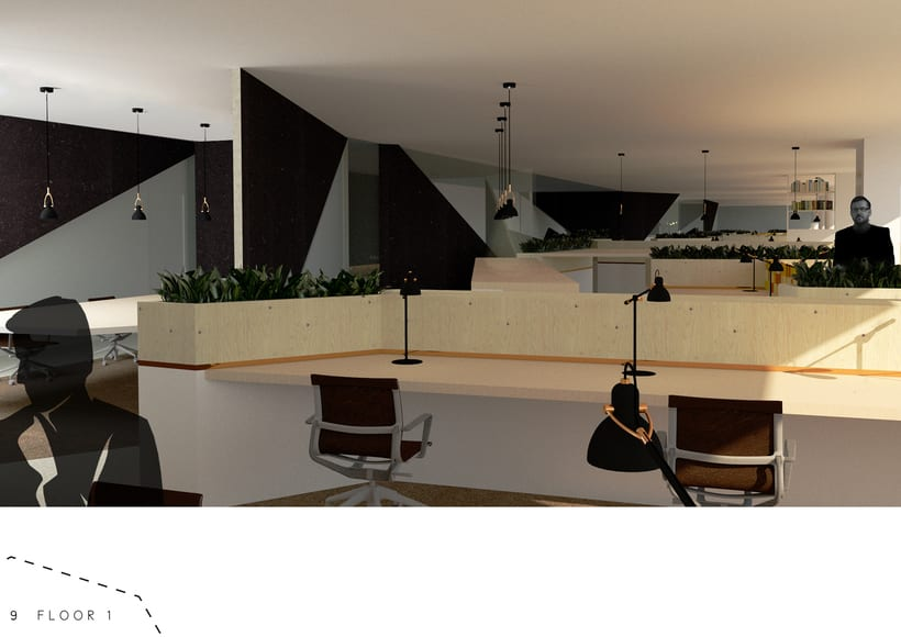 renders of office project 4