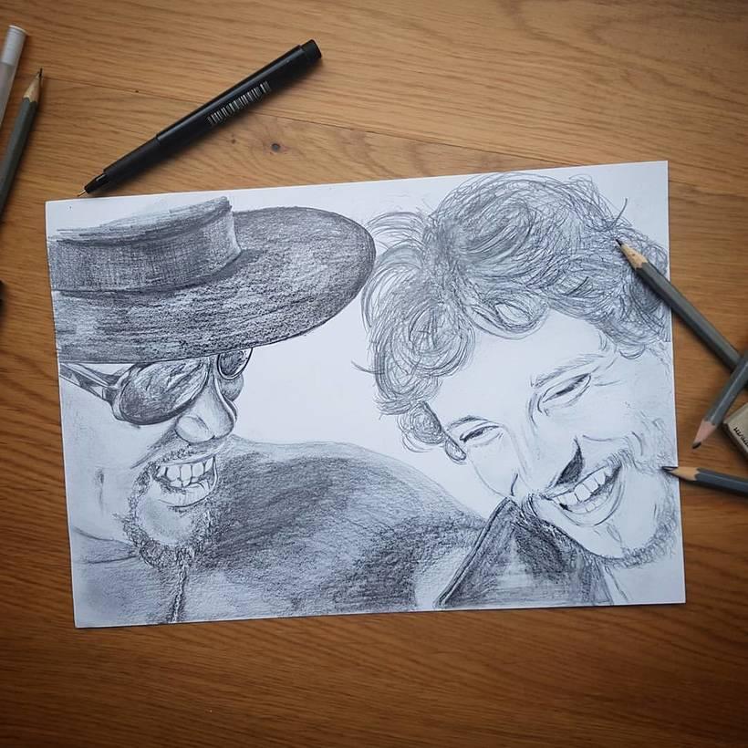 pencil portrait -1